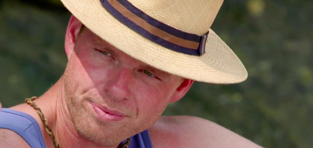 Some people call me the beach cowboy; some call me the gangster of love… Source: Channel Ten