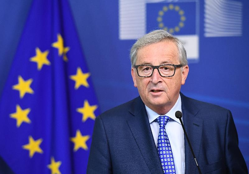 """The French spend too much money and spend it on the wrong things,"" European Commission President Jean-Claude Juncker said in Berlin (AFP Photo/Emmanuel DUNAND)"