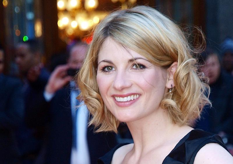 """British actress Jodie Whittaker will take up the role of """"Doctor Who"""" in the show's Christmas special"""