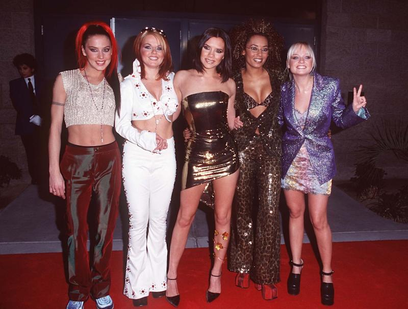 Credit: Credit: RTGranitz /MediaPunch 1997 BILLBOARD AWARDS MGM HOTEL LAS VEGAS 12-8-97 SPICE GIRLS/IPX