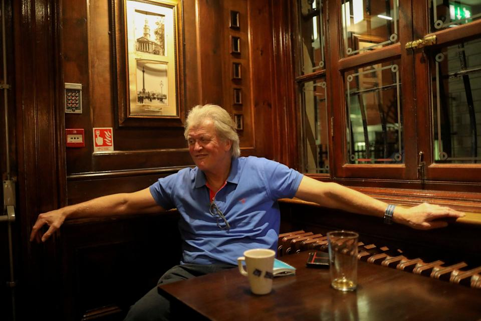 <p>JD Wetherspoons chairman Tim Martin</p> (REUTERS)