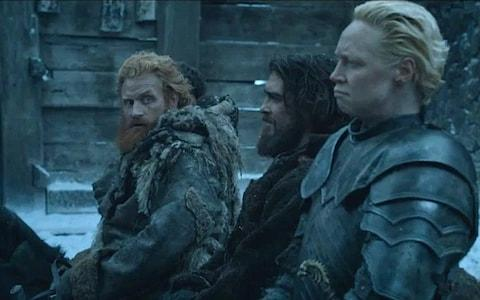 Tormund Giantsbane and Brienne of Tarth's romance