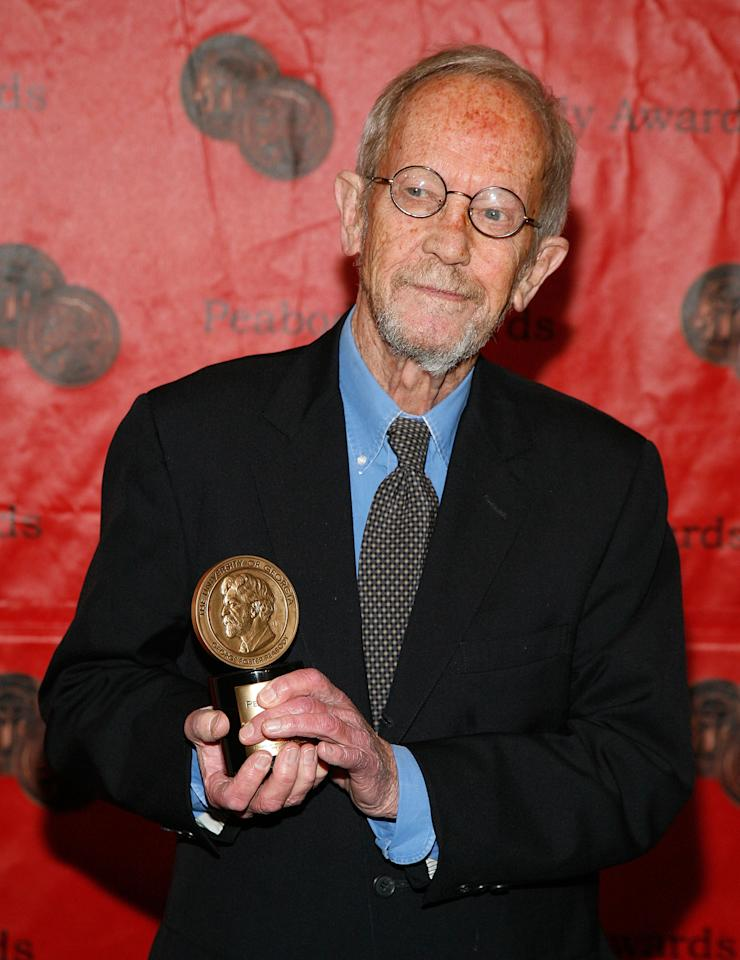 NEW YORK, NY - MAY 23:  Elmore Leonard attends the 70th Annual Peabody Awards at The Waldorf-Astoria on May 23, 2011 in New York City.  (Photo by Andy Kropa/Getty Images)