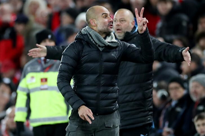 Twice! Pep Guardiola's Reaction After Being Denied a Penalty is Internet's New Favourite Meme