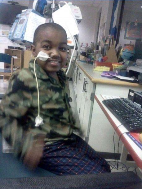 PHOTO: Marquis Davis, now 17, had open heart surgery at 5 days old and his first heart transplant when he was 3. (Porsha Jackson)