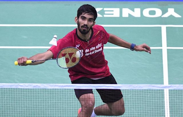 Kidambi Srikanth is the first Indian to reach number one in the men's world badminton rankings (AFP Photo/SAJJAD HUSSAIN)