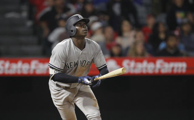Didi Gregorius has for the month of April been about the best player in the game: a .340 hitter, 10 home runs, 30 RBIs. (AP)