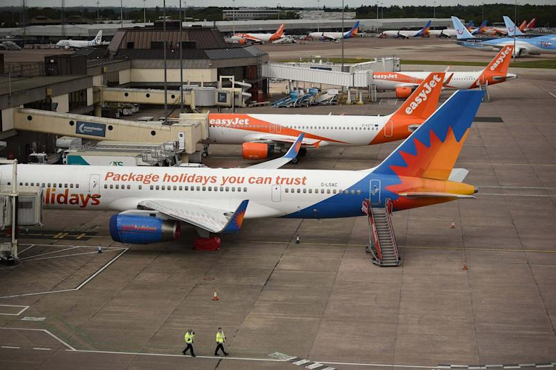 Jet2 has cancelled all its flights and holidays to mainland Spain for the rest of the summer: AFP via Getty Images