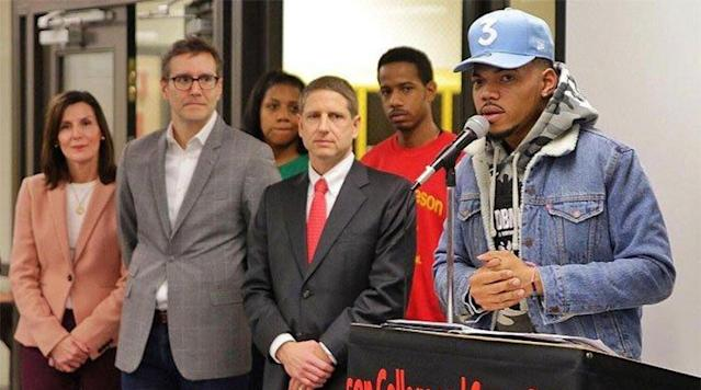 Chicago Bulls join Chance the Rapper, pledge $1 million to Chicago Public Schools
