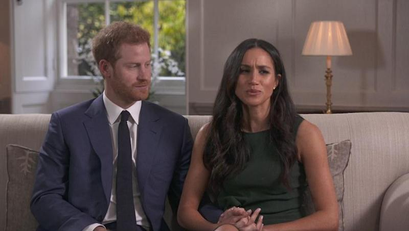 Prince Harry and Meghan Markle are engaged. Photo: BBC
