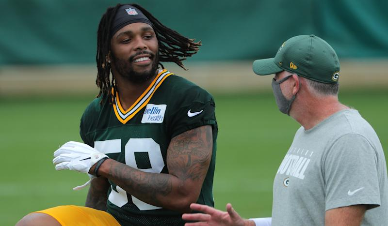 After 7 years, Packers LB Christian Kirksey finally has a Week 1 win