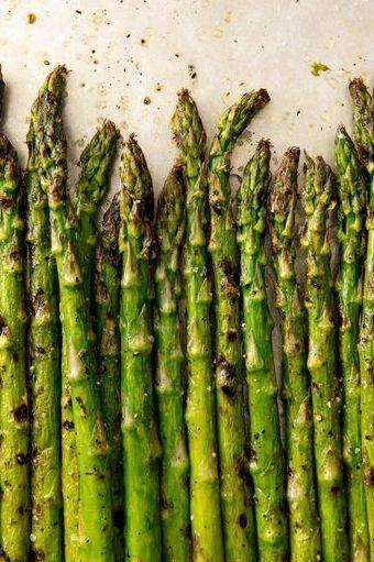 """<p>Those grill marks add SO. MUCH. FLAVOUR. And can make pretty much any green vegetable feel like less of a chore. </p><p>Get the <a href=""""https://www.delish.com/uk/cooking/recipes/a31802776/best-grilled-asparagus-recipe/"""" target=""""_blank"""">Grilled Asparagus</a> recipe.</p>"""
