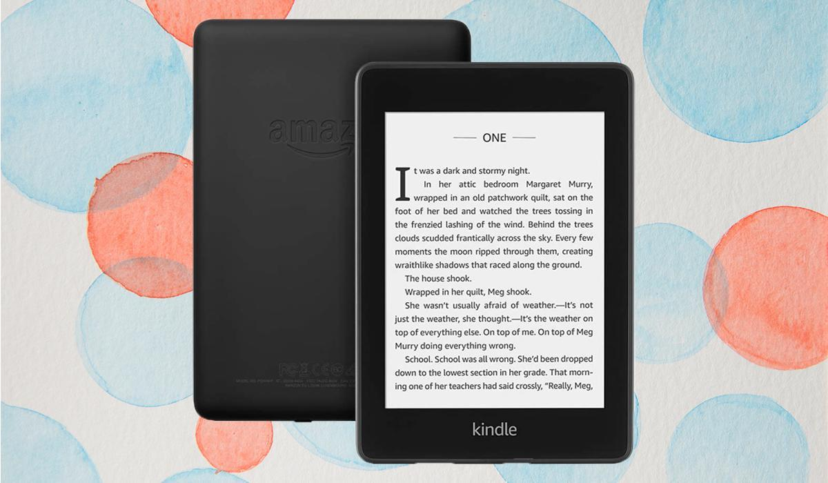 An entire library at your fingertips with the lightweight Kindle Paperwhite (Photo: Amazon)