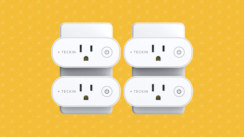 Save 46 percent on the Teckin Smart Plugs (four-pack). (Photo: Amazon)