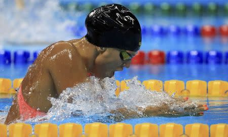 Swimming efimova swims second fastest heat after doping ban lifted - Olympic swimming breaststroke ...