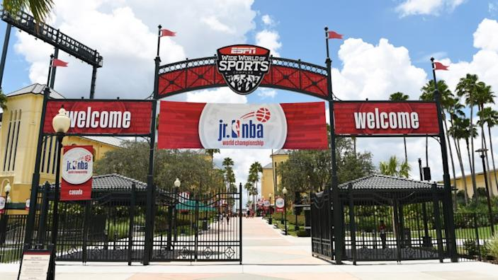 Disney World's sports complex in Orlando, Fla., has hosted Jr. NBA tournaments in the past.
