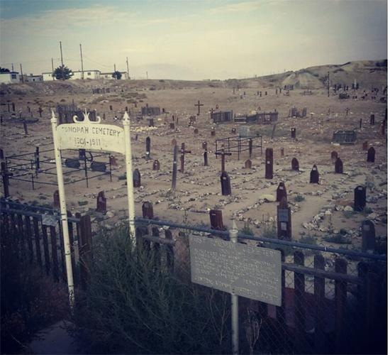 A cemetery, which is said to be haunted, is located right next door. Photo: Instagram