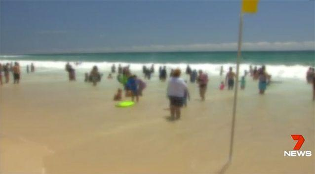 The teenager pleaded guilty to assaulting eight women and girls on a Surfers Paradise beach. Picture: 7 News