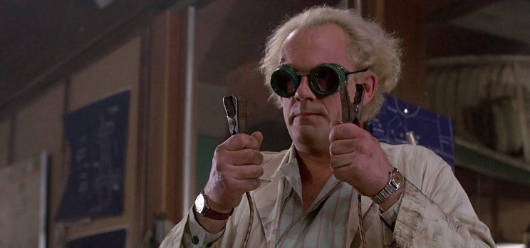 Sequel... is there's another Back To The Future movie in the offing, Christopher Lloyd is in - Credit: Universal