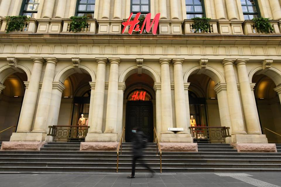 A report from Oxfam and Monash University found H&M was the best-performing brand.