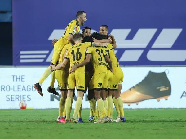 A brace from Fran Sandaza and goals from Aridane Santana and Joao Victor helped Hyderabad climb to third on the table. (Photo/ ISL)