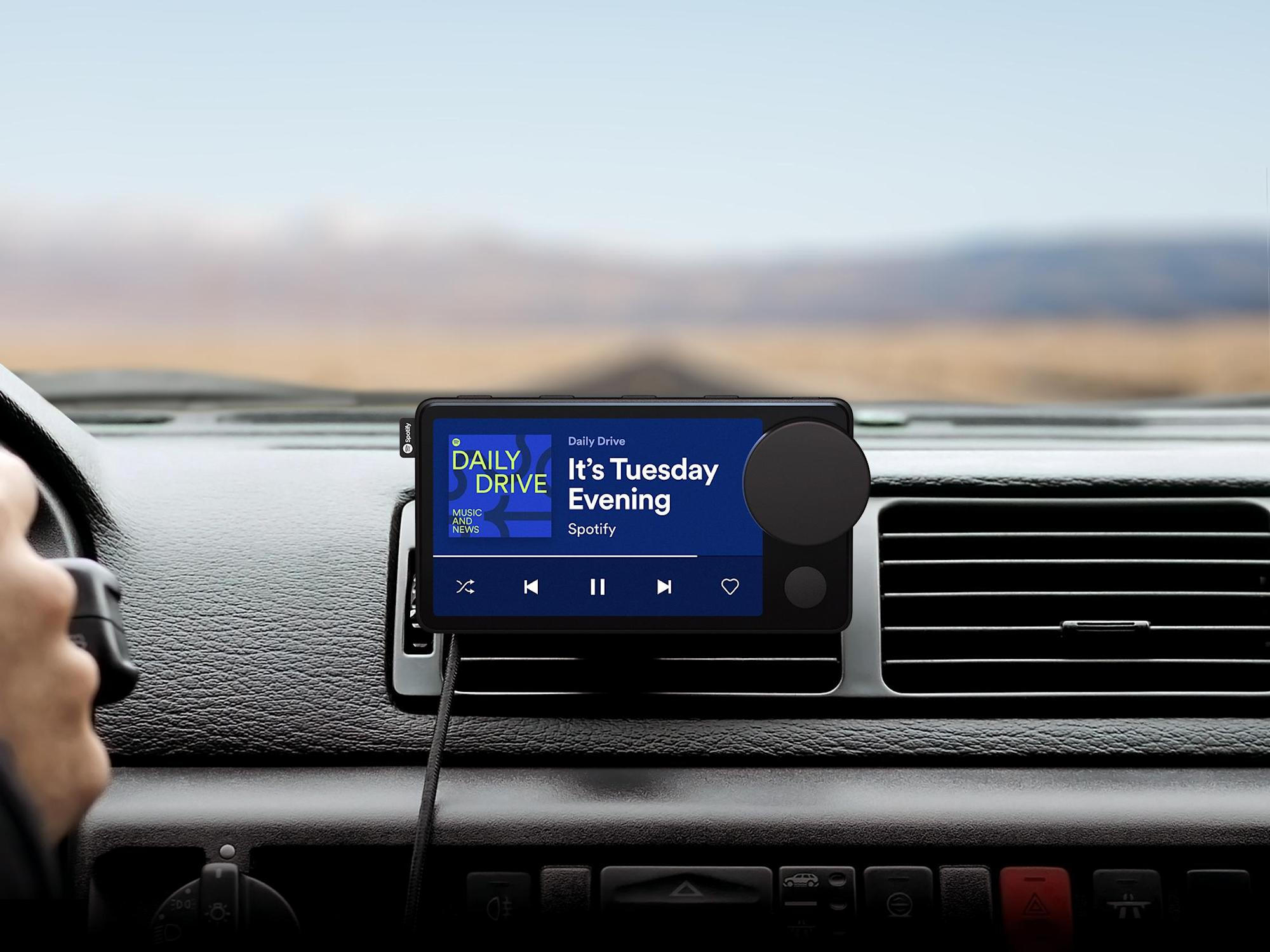 Spotify is an in-car entertainment system