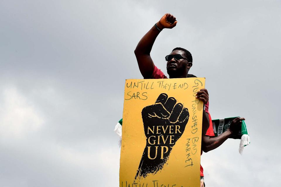 Amnesty International claimed there was credible evidence that protestors had been fatally shot: AFP via Getty Images
