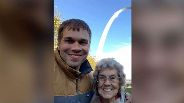 PHOTO: Brad Ryan and his grandmother Joy have spent the last four years traveling more than 40,000 miles and visiting 49 national parks in 41 states including the Gateway Arch, Hot Springs, Big Bend and Death Valley. (Courtesy Brad Ryan)