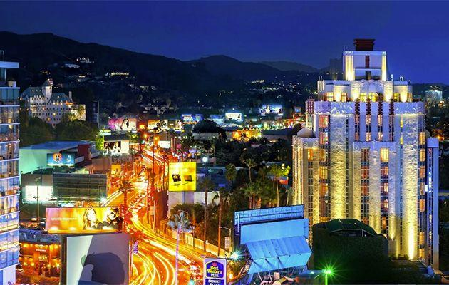 Here's how to get an extra mini-break the next time you fly through LA. Source: VisitWeHo