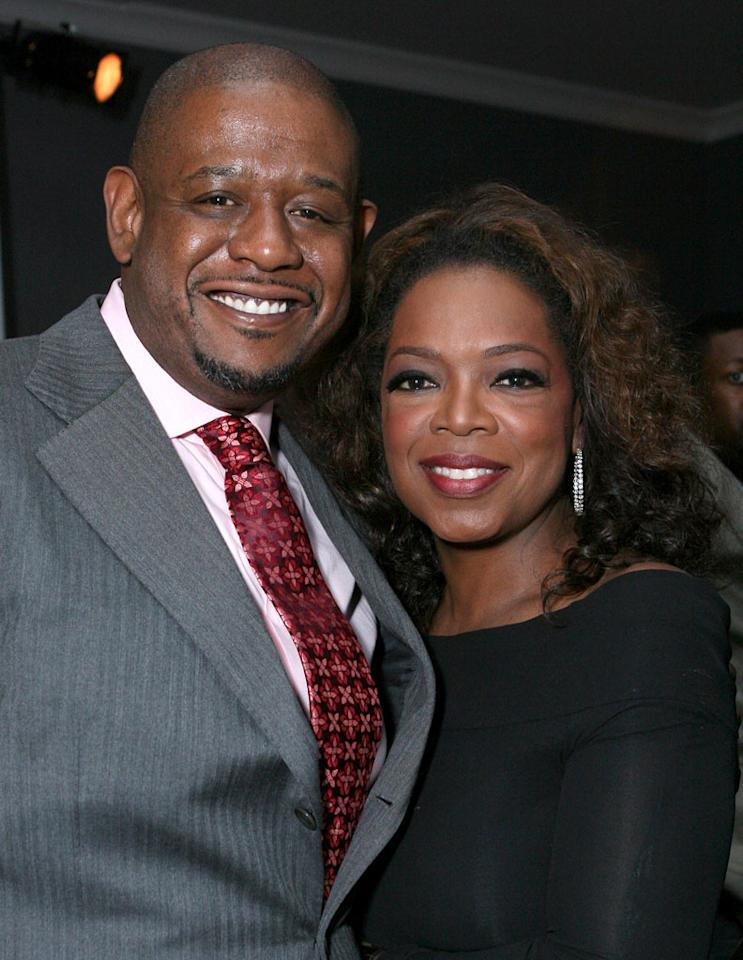 Forest Whitaker and Oprah Winfrey at the Dom Perignon Celebration for Forest Whitaker.