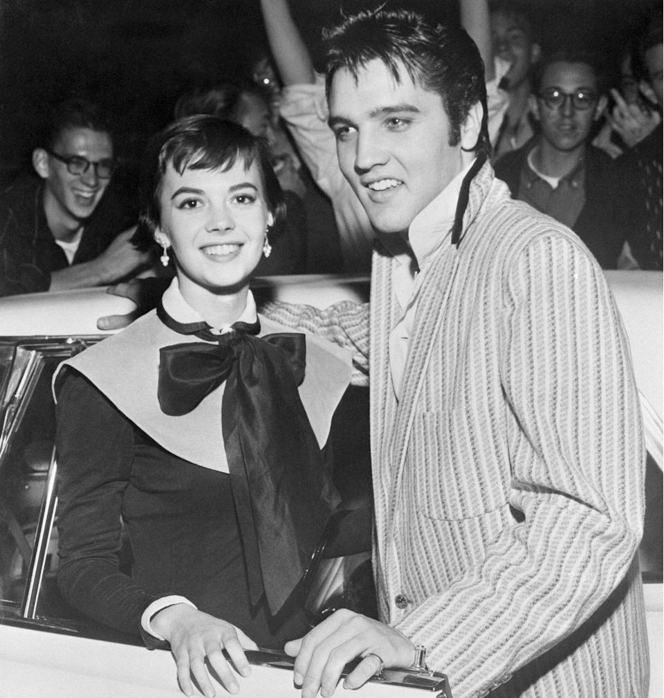 "<p>At the age of 17, Wood was a regular fixture in the gossip columns for her romantic interests, including a romance with Elvis Presley. However, the <a href=""https://www.closerweekly.com/posts/inside-elvis-presley-and-natalie-woods-hollywood-romance-exclusive/"" rel=""nofollow noopener"" target=""_blank"" data-ylk=""slk:relationship"" class=""link rapid-noclick-resp"">relationship</a> ended shortly after it began. </p>"
