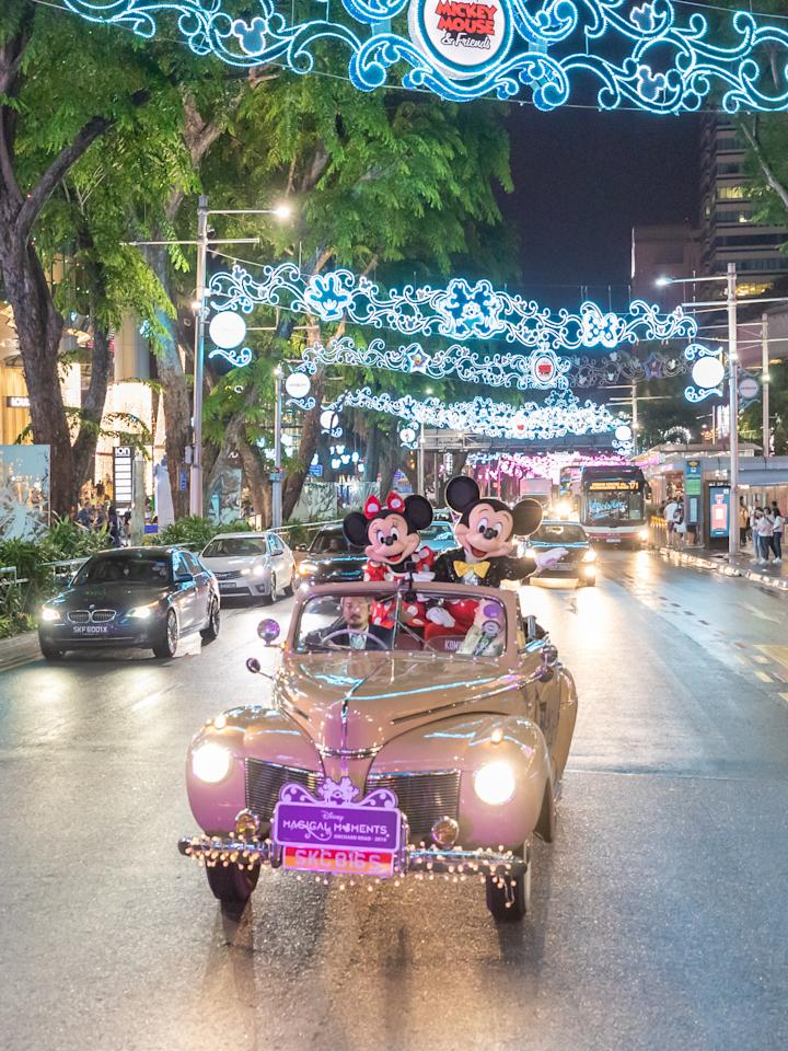 <p>Click on to see visuals of Mickey, Minnie, Ariel from The Little Mermaid and more around Orchard Road. </p>