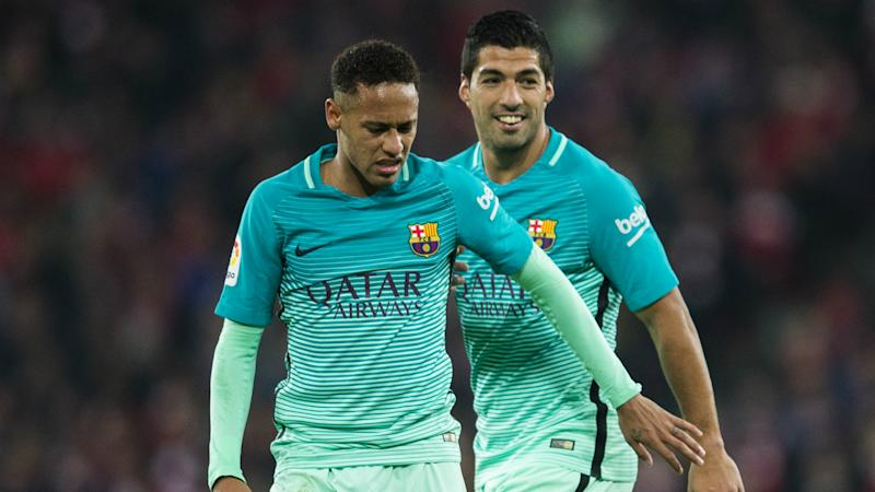 'Pique's comments should be taken with a pinch of salt' - Barcelona stars had no say in Neymar bid, says Suarez