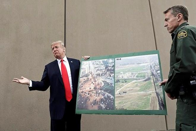 President Donald Trump,US, Mexico border, San Diego, Rodney Scott, the US Border Patrol, San Diego sector chief, US District Judge Haywood Gilliam Jr, President Donald Trump, national emergency