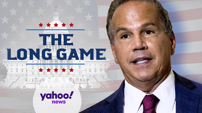 Rep. David Cicilline, D-R.I. (Photo illustration: Yahoo News; photos: Andrew Harnik/AP, AP)