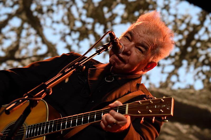 John Prine performs on Saturday, June 15, 2019 during the Bonnaroo Music and Arts Festival in Manchester, Tenn.