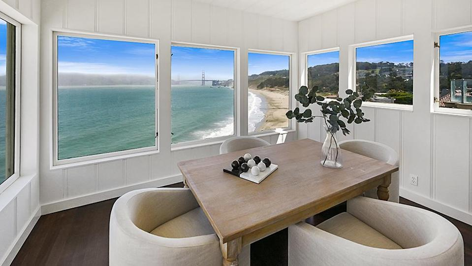 One of the home's many lookouts. - Credit: Photo: Courtesy of Lunghi Media Group for Sotheby's International Realty