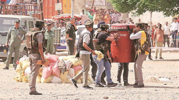 Chandigarh: Three mortar shells found abandoned at Ramdarbar