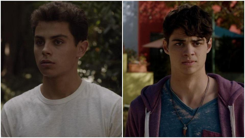 """<p>Before Noah Centineo was breaking hearts in <em>To All the Boys I've Loved Before</em>, he was busy replacing Jake T. Austin on ABC Family's <em>The Foster</em>s. Jake issued a pretty salty explanation about his reason for leaving, <a href=""""https://twitter.com/JakeTAustin/status/817391586686500865"""" rel=""""nofollow noopener"""" target=""""_blank"""" data-ylk=""""slk:saying"""" class=""""link rapid-noclick-resp"""">saying</a>, """"I was only asked to return for three episodes and wasn't going to be able to work on anything else, so I left....""""</p>"""