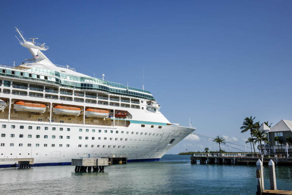 Royal Caribbean Lines 'Vision of the Seas' docked in Key West, Fl. in 2014. (Universal Images Group via Getty Images)