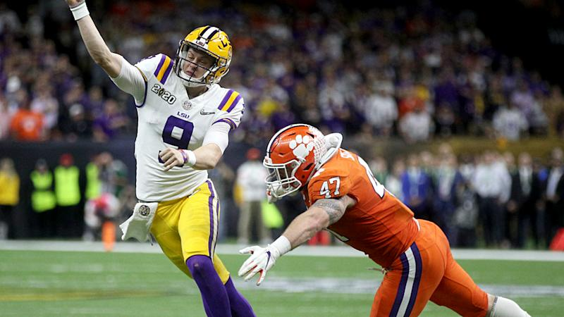 Clemson's James Skalski ejected for targeting in College Football Playoff title game
