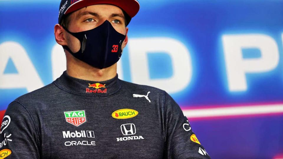 Max Verstappen tifoso del PSV Eindhoven | Pool/Getty Images