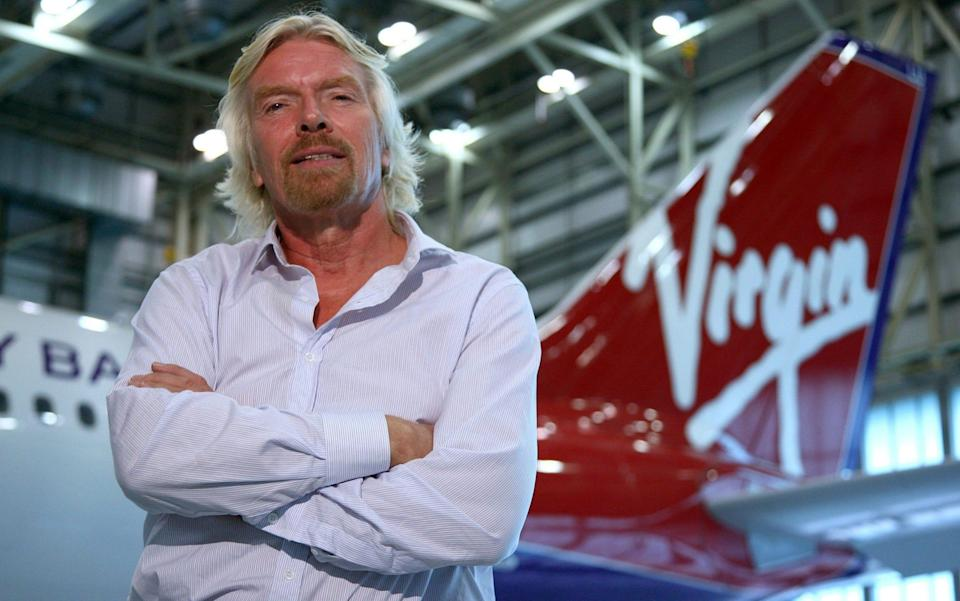 Sir Richard Branson is injecting £200m into the airline he founded