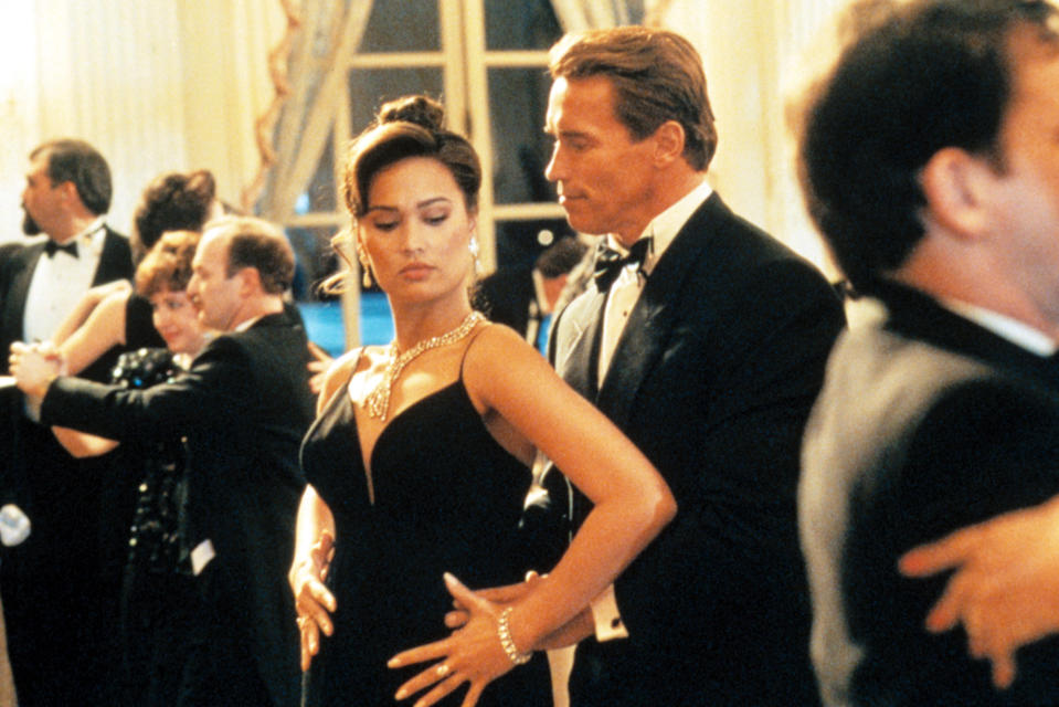 Arnold Schwarzenegger learns to tango with Tia Carrere in 'True Lies' (Photo:  20th Century Fox Film Corp./Courtesy Everett Collection)