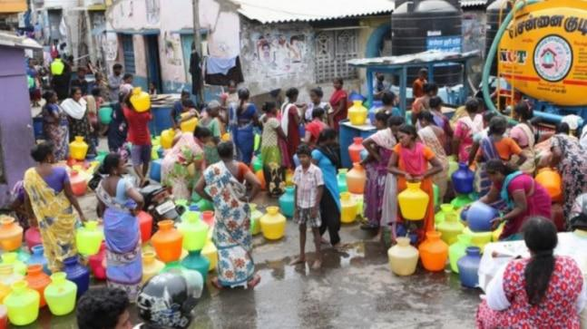 Chennai Police has denied permission to NGO Arappor Iyakkam to protest against the ongoing water crisis in Chennai.