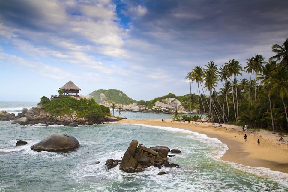 <p>While it isn't the easiest to get to, Cabo San Juan de la Guia Beach in Tayrona National Nature Park is worth the trek through the jungle to get there.</p>