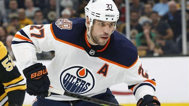 Former Boston Bruins star Milan Lucic is on the move again.