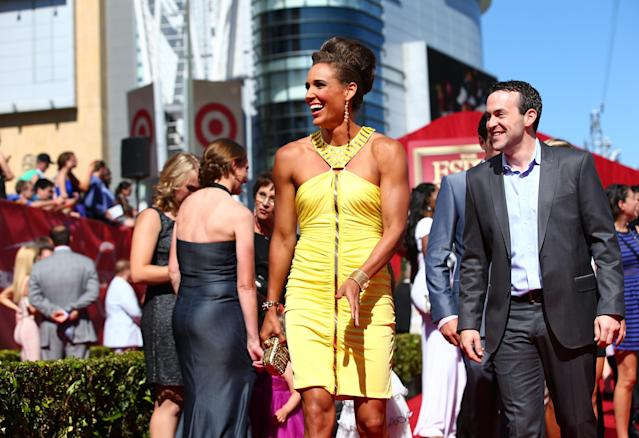 LOS ANGELES, CA - JULY 17: Track and Field athlete Lolo Jones attends The 2013 ESPY Awards at Nokia Theatre L.A. Live on July 17, 2013 in Los Angeles, California. (Photo by Christopher Polk/Getty Images for ESPY)