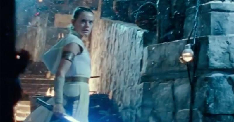 Star Wars: The Rise of Skywalker reveals new footage, Darth Vader's mask