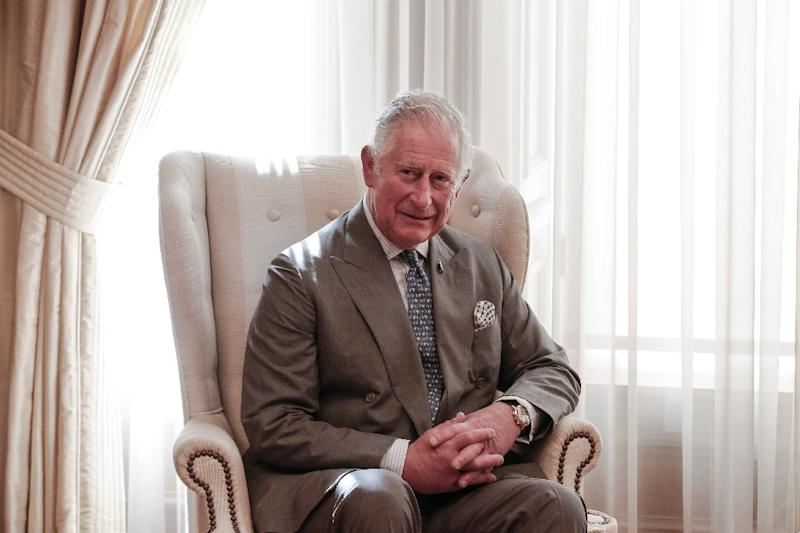 Britain's Prince Charles met with Greece's President and Prime Minister in Athens (AFP Photo/STR)